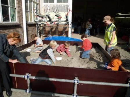 Opgravingsbak Open Monumentendagen Erfgoed Leiden